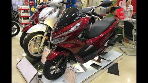Honda Pcx 2018 Thailand by New Honda Pcx 2018 Detail Honda Pcx 2018 At The Shop