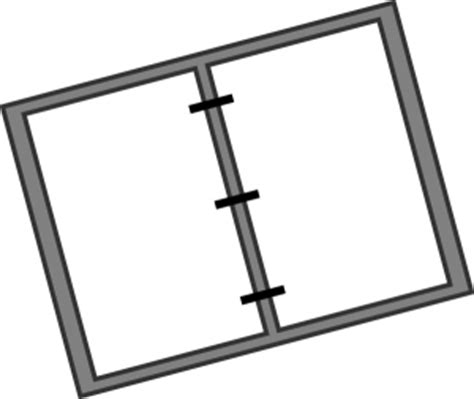 binder clipart black and white binder clip