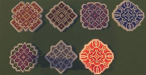 Minecraft Circle Floor Designs by Floor Patterns Minecraft Building Inc Stuff