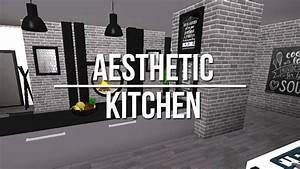 ROBLOX Welcome to Bloxburg: Aesthetic Kitchen - YouTube
