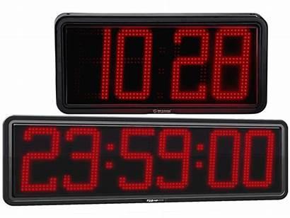Digital Clocks Led Displays Temperature Counters