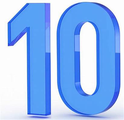 Number Ten Background Icon Marketing Save Counting