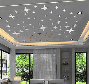 ceiling lovely stars planet 3d mirror wall decals best With best mirror decals for walls