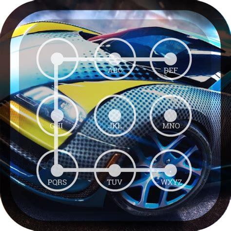 Racing Car Lock Screen