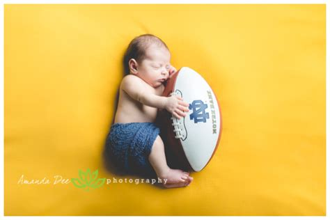 Of Notre Dame Baby Adorable Dimpled Baby Boy Newborn Session Cedar Rapids