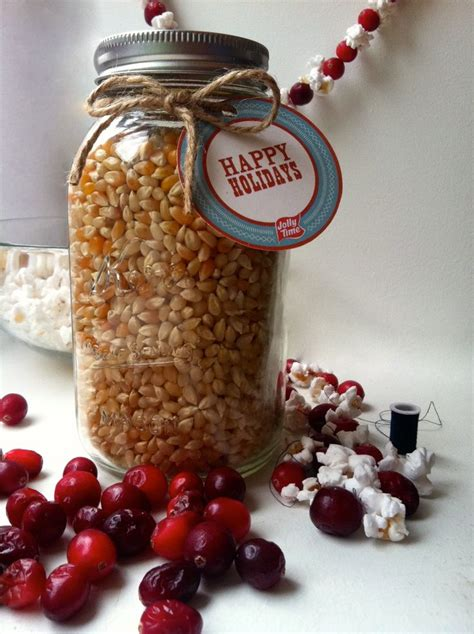 jolly time pop corn mason jar labels and gift ideas