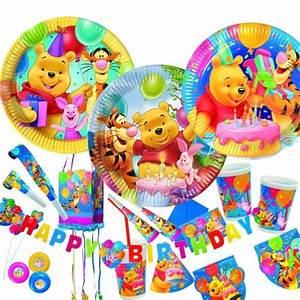 Deko Für Kindergeburtstag : winnie pooh kindergeburtstag geburtstag set party deko ebay ~ Frokenaadalensverden.com Haus und Dekorationen