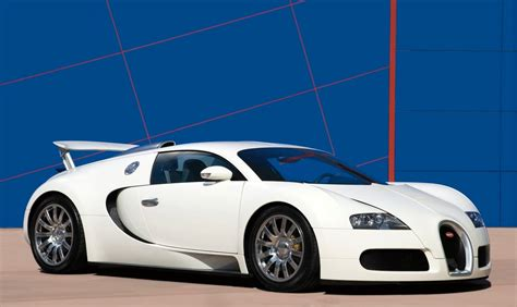 And White Bugatti by Sports Cars Bugatti Veyron White