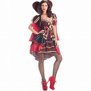 Costume Reine De Coeur Deluxe Dguisement Femme