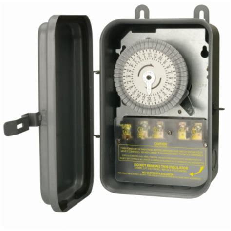 woods  outdoor heavy duty mechanical timer