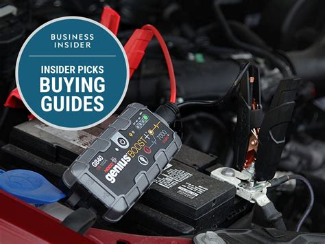 jump start car the best car jump starters you can buy business insider