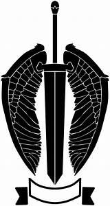 Nameless Winged Sword Logo. by RennisTora on DeviantArt
