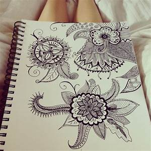 I want an abstract tattoo like these sketches! But I'm ...