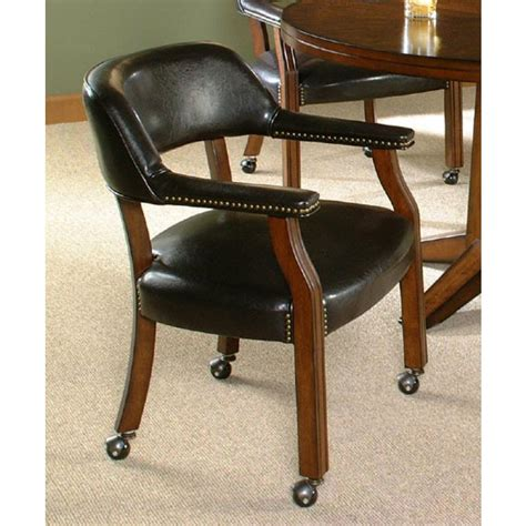 dinette chairs with casters and arms make in functional