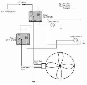 Alternative 2-speed Fan Control Relays