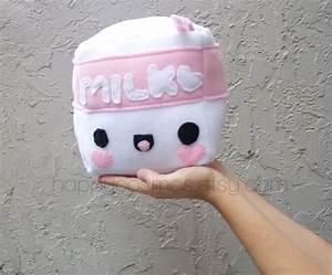 Cubed Milk Plush Kawaii Plushie Cute Stuffed Animal