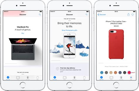 apple store app gains ios  rich notifications