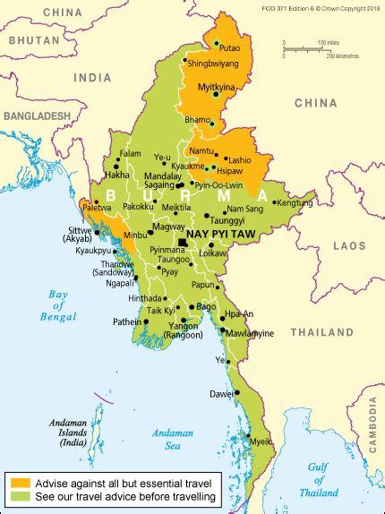 Burma travel advice - GOV.UK