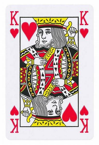 King Hearts Card Playing Death Different Isolated