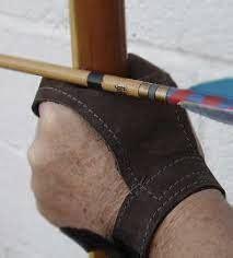 resultado de imagen  archery finger tab pattern