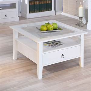 stanley square coffee table in white with 1 drawer 19143 With white square coffee table with drawers