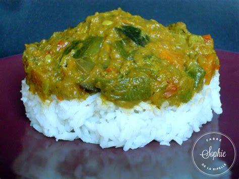 cuisiner au lait de coco curry de légumes au lait de coco la tendresse en cuisine
