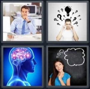 4 pics 1 word cheats 7 letters 4 pics 1 word answer for work think brain heavy 20737