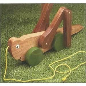 Woodworker's Journal Grasshopper Pull Toy Plan Rockler
