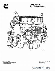 Cummins Engine M11 Series Workshop Manual