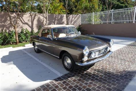 Peugeot 404 For Sale by 1966 Peugeot 404 Cabriolet For Sale Photos Technical
