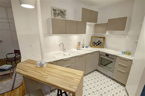 plan de cuisine ikea design nordique radiateur fonte renove