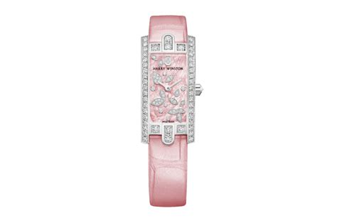 Avenue Mini Lily Cluster Pink Harry Winston