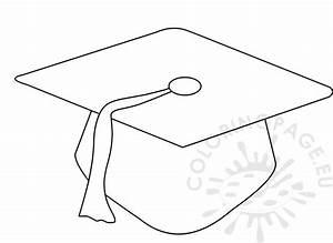 Preschool graduation cap pattern | Coloring Page