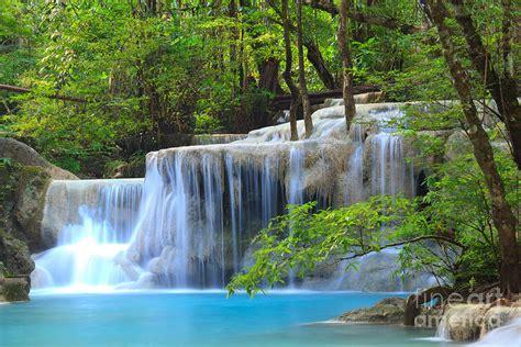 Erawan Waterfall In Thailand Photograph By Noppakun Wiropart