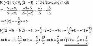 Steigung M Berechnen : l sungen grundaufgaben f r lineare und quadratische funktionen i ~ Themetempest.com Abrechnung