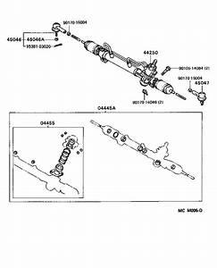 Toyota Camry Gasket Kit  Power Steering Gear For Rack
