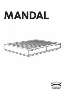 ikea mandal dresser dimensions ikea mandal bedframe w storage box furniture