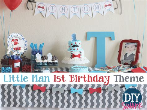 tag theme ideas for 1st birthday party for boy party ideas and themes archives diy swank