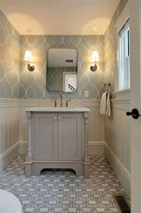 wallpaper ideas for bathroom best 25 bathroom wallpaper ideas on half bathroom wallpaper powder room and small