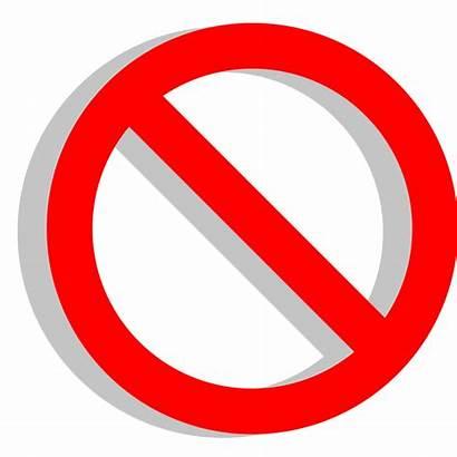 Symbol Svg Transparent Background Clipart Wrong Restriction