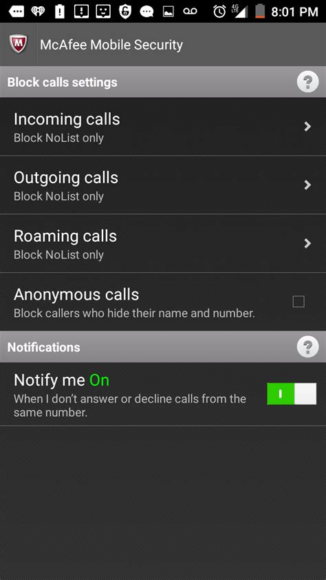 Mcafee Mobile Support by Mcafee Support Community How Do I Block Calls In My