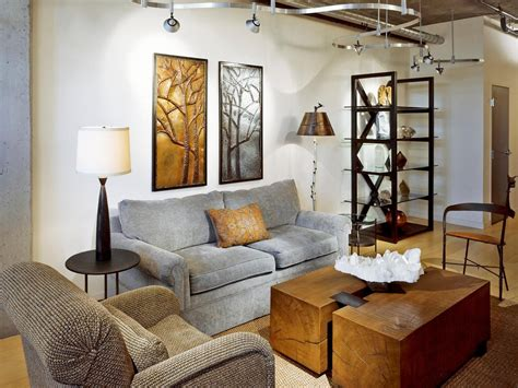 decorate  living room  floor  table lamps