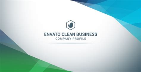 Clean Business Company Profile  After Effects Template