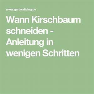 Kirschbaum Richtig Schneiden : die besten 25 kirschbaum schneiden ideen auf pinterest ~ Lizthompson.info Haus und Dekorationen