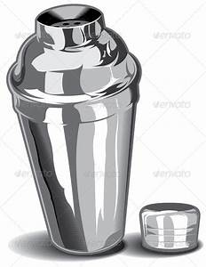 Cocktail Shaker Vector | GraphicRiver