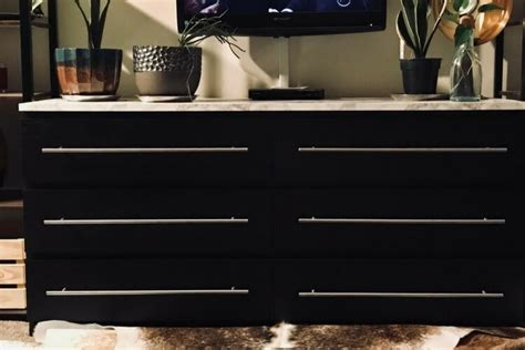 simple malm dresser upgrade ikea hackers ikea hackers