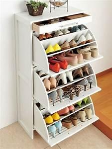 Meuble Chaussure Design : meuble chaussure idee ~ Teatrodelosmanantiales.com Idées de Décoration