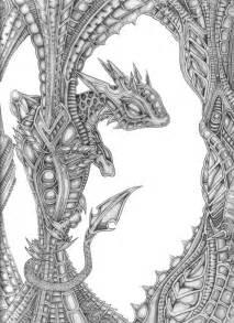 Mechanical Dragon Tattoo