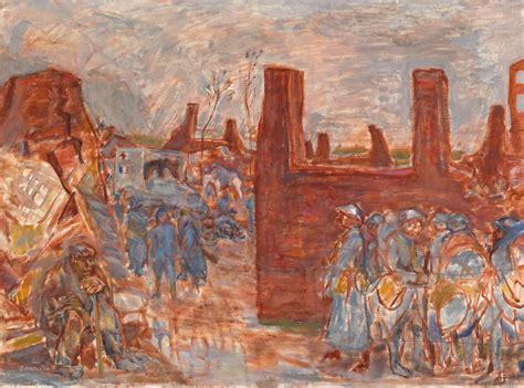 reclusive painter pierre bonnard   shown  great war