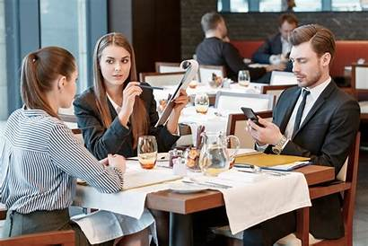 Business Entertainment Meals Discussion Dining Expenses Lunch